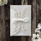 White Everlasting Love - Wedding invitation - 22