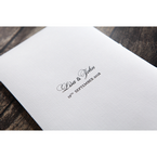 White Everlasting Love - Wedding invitation - 26