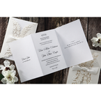 White Everlasting Love - Wedding invitation - 27