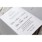 White Everlasting Love - Wedding invitation - 28