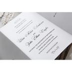 White Everlasting Love - Wedding invitation - 28