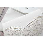 White An Elegant Beginning - Wedding invitation - 17