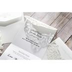 White An Elegant Beginning - Wedding invitation - 18