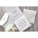 White An Elegant Beginning - Wedding invitation - 19