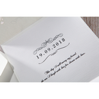 White An Elegant Beginning - Wedding invitation - 20