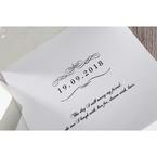 White An Elegant Beginning - Wedding invitation - 20