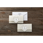 Beige Letters of love - Wedding invitation - 40