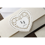 Beige Letters of love - Wedding invitation - 41
