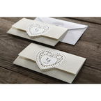 Beige Letters of love - Wedding invitation - 42