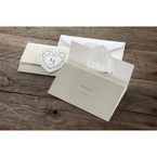 Beige Letters of love - Wedding invitation - 45