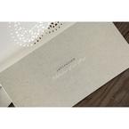 Beige Letters of love - Wedding invitation - 46