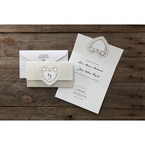 Beige Letters of love - Wedding invitation - 47