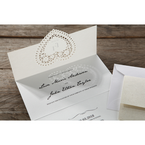 Beige Letters of love - Wedding invitation - 50