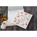 Red Petal Perfection - Wedding invitation - 60