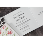 Red Petal Perfection - Wedding invitation - 65