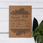 Hand Delivery wedding invitations FWI116063-NC