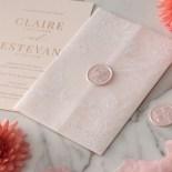 Vellum Wrapped Ensemble - Wedding Invitations - WP-CR07-RG-01-V - 184818