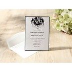 Black Victorian Chandelier - Bridal Shower Invitations - 63