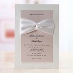White Inseparable Wrap - Wedding invitation - 3