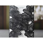 White Laser Cut Floral Lace - Engagement Invitations - 89