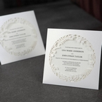 White Enchanted Forest I Laser Cut P - Wedding invitation - 49