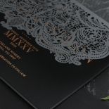 Royal Lace Lasercut Half Fold - Wedding Invitations - PWI116142-F-GK-7610 - 183834