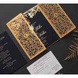 Botanical Glamour - Wedding Invitations - PWI116022-NV-7615 - 183884