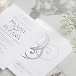 Sumo 3mm Foiled Square Card - Wedding Invitations - WP300GG-7619 - 183904