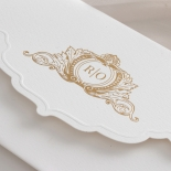 Mesmerising Solid White Pocket - Wedding Invitations - WPSP-01 - 183843