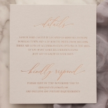 Blush Elegance with Rose Gold Foil - Wedding Invitations - WP301GG - 183775