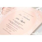 Pink Rustic Garden Laser Cut Pocket - Wedding invitation - 45