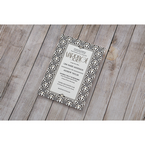 Black Dazzling Silver Foil Stamped - Wedding invitation - 31