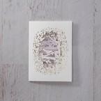Purple Laser Cut Forest 3D Pocket - Wedding invitation - 45