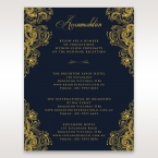 Imperial Glamour with Foil accommodation card DA116022-NV-F