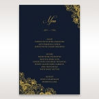 Imperial Glamour with Foil menu card DM116022-NV-F