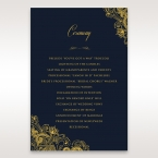 Imperial Glamour with Foil order of service DG116022-NV-F