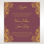 Imperial Glamour with Foil reception card DC116022-MS-F