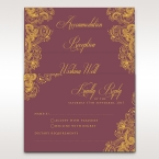 Imperial Glamour with Foil reception card DC116022-MS-F_1