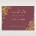 Imperial Glamour with Foil save the date DS116022-MS-F