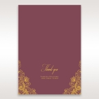 Imperial Glamour with Foil thank you card DY116022-MS-F