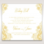 Imperial Glamour with Foil wishing well card DW116022-WH