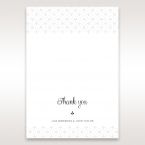 Laser Cut Button thank you card DY15102