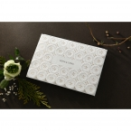 Laser Cut Button wedding invitations HB15102_1