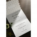 Laser Cut Button wedding invitations HB15102_10