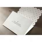 Laser Cut Button wedding invitations HB15102_8