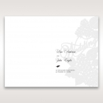 Laser Cut Floral Wedding menu card DM15086_1