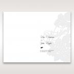 Laser Cut Floral Wedding menu card DM15086_1