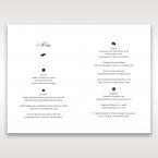 Laser Cut Floral Wedding menu card DM15086_2