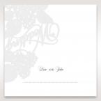 Laser Cut Floral Wedding place card DP15086