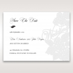 Laser Cut Floral Wedding save the date DS15086